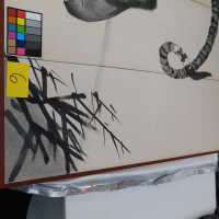 Japanese Tiger Ink Painting on screen picture number 69