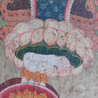 Thai scroll painting #1 picture number 18