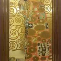 """""""The Embrace"""" Stoclet Frieze, after Klimt"""