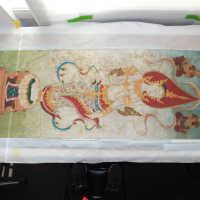 Thai scroll painting #1 picture number 312