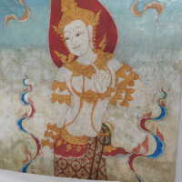 Thai Scroll Painting #2 picture number 210