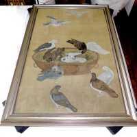 """Eleven Pigeons"" by Jiang Tingxi"
