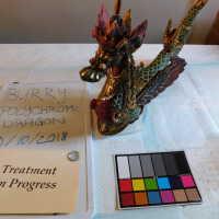 Polychrome dragon