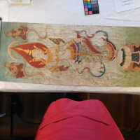 Thai scroll painting #1 picture number 219