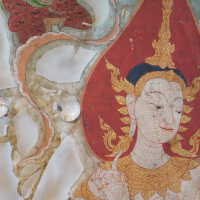 Thai scroll painting #1 picture number 142