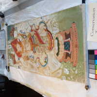 Thai scroll painting #1 picture number 156