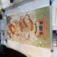 Thai scroll painting #1 picture number 157
