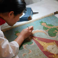 Thai Scroll Painting #2 picture number 37