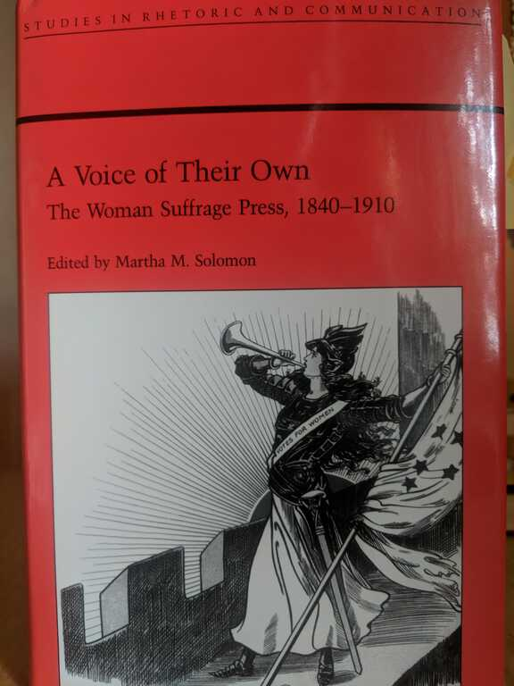 A Voice of Their Own: The Woman Suffrage Press, 1840-1910 picture number 1