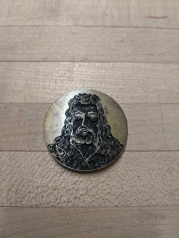 Portrait medallion die picture number 1