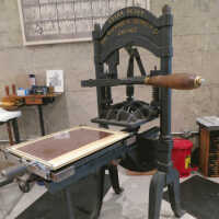 Ostrander Seymour Hand Press picture number 1