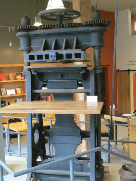 Sanborn Embossing Press picture number 1