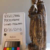 Santos Polychrome Wood Figures picture number 4
