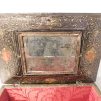 Medieval Painted Gilt Box with Key picture number 21