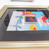 Framed heart with abstract surroundings picture number 4
