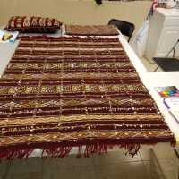 3 textiles and wool samples