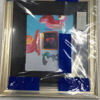 Framed heart with abstract surroundings picture number 10