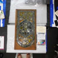 Stained glass lg German Panel A picture number 3