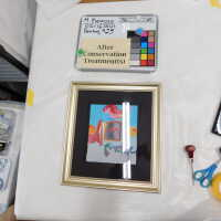 Framed heart with abstract surroundings picture number 9