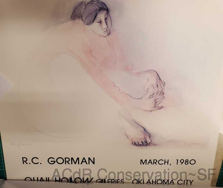 R.C. Gorman, Quail Hollow Galleries poster picture number 1