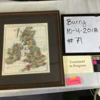 Map of England, Scotland, and Ireland