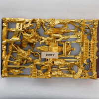 Rectangular gilded carving picture number 2
