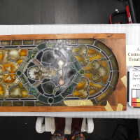 Stained glass Lg. German Panel B picture number 2