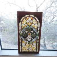 Stained glass Lg. German Panel B