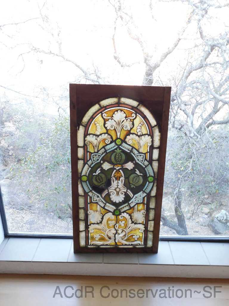 Stained glass Lg. German Panel B picture number 1