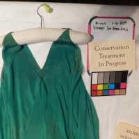 Vionnet Sea Green Dress