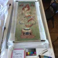 Thai scroll painting #1