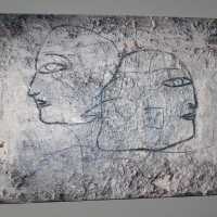 Impasto Painting with Two Faces