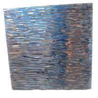 Dark Blue Wave Artwork