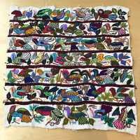 Guatemalan Bird Textile