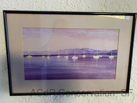 Lake Tahoe in Summer - Purple composition picture number 1
