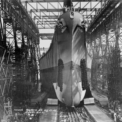 2B launch day - Brooklyn Navy Yard, New York - August 27, 1942 folder thumbnail.