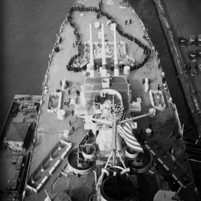2D USS Iowa BB-61 Commissioning Ceremony - February 22, 1943 folder thumbnail.