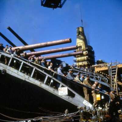 2C Iowa fitting out - Brooklyn Navy Yard - August 1942 through January 1943 folder thumbnail.