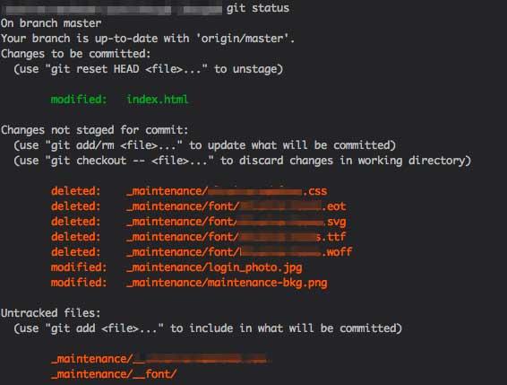 Git Color Highlighting