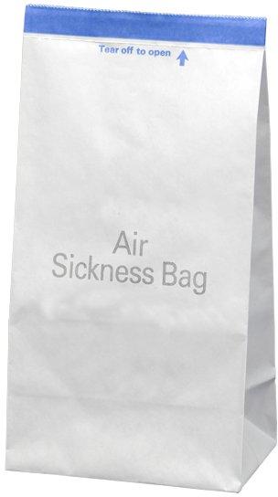sickness bag