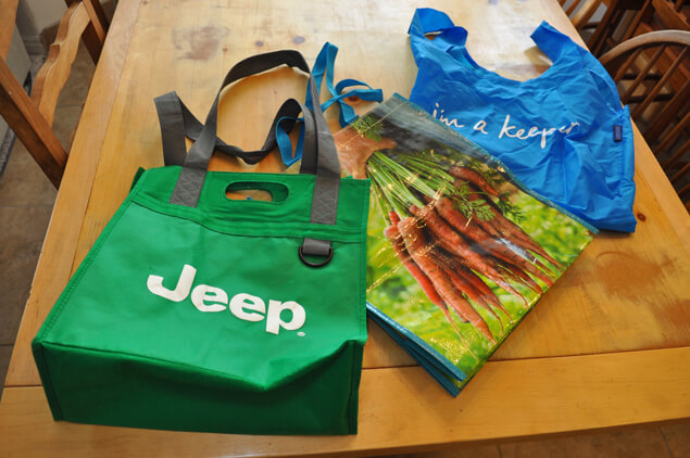 cleaning reusable bags