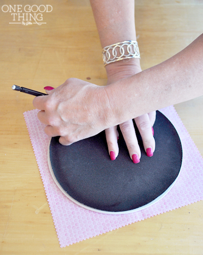 mousepad makeover