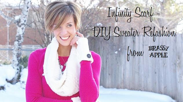 diy sweater scarf 1
