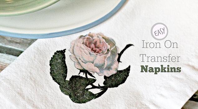 Iron On Napkins