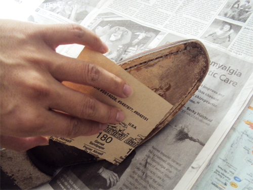 Sandpaper uses