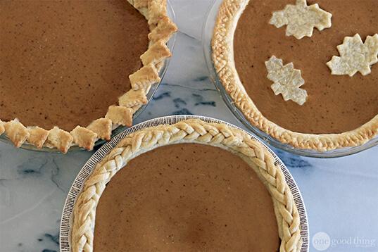 Beautiful Pie Crusts