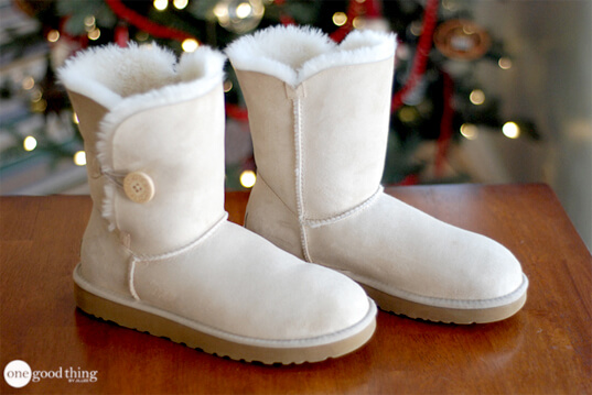 Cleaning Ugg boots