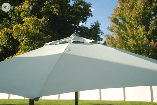 How to Clean a Patio Umbrella
