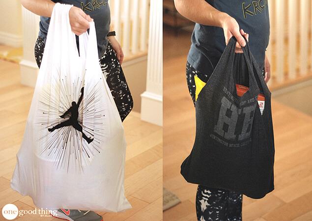 DIY T-shirt bag 1