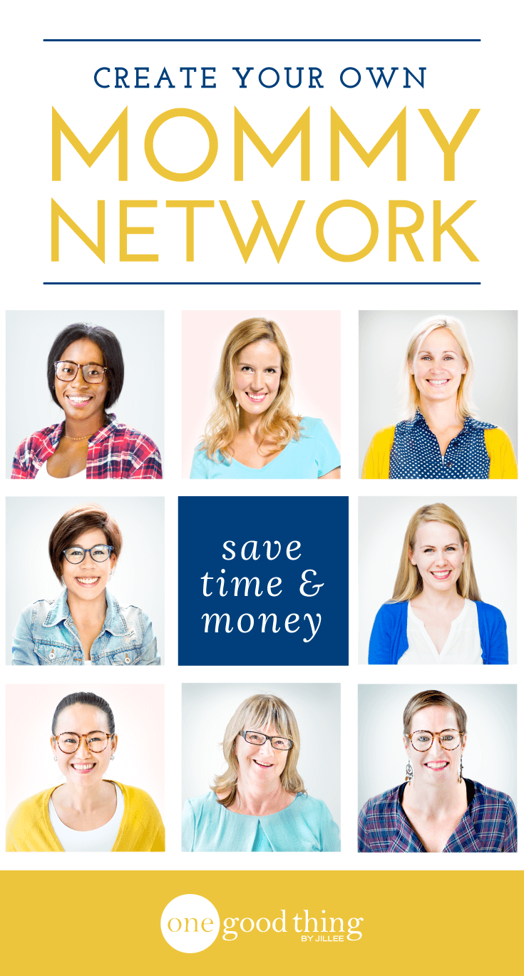 "Create Your Own ""Mommy Network"" to Save Time and Money!"